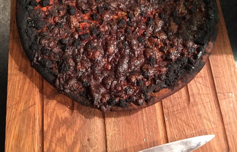 lock out in norwich results in burnt pizza