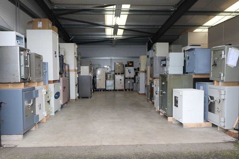 safe storage at PT Lock and Safe