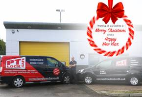 Merry Christmas 2018 from PT Lock and Safe